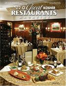 Great Kosher Restaurants Magazine